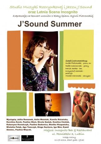 J'Sound Summer – koncert uczniów