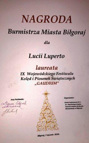 Nagroda Burmistrza Miasta Biłgoraj!